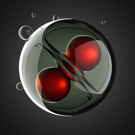 zygocyte: A micro cell division process illustration