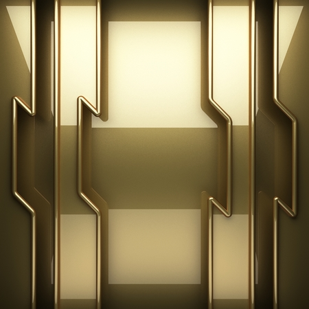 polished: polished golden background