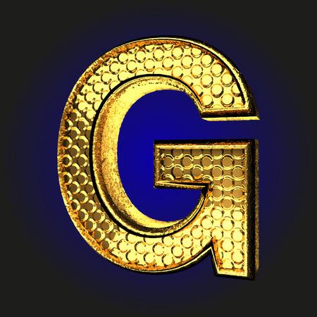 g golden letter
