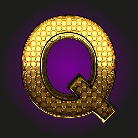q: q golden letter