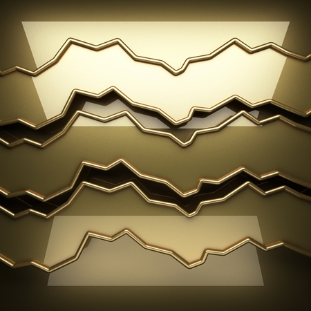 polished: polished golden background