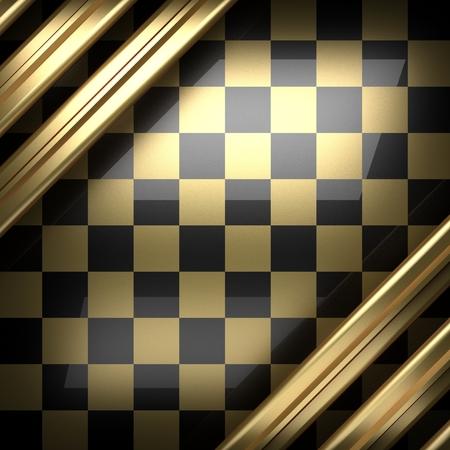 polished: polished golden and black background
