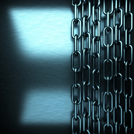 brushed: blue brushed metal background