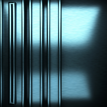 stainless steel sheet: blue brushed metal background