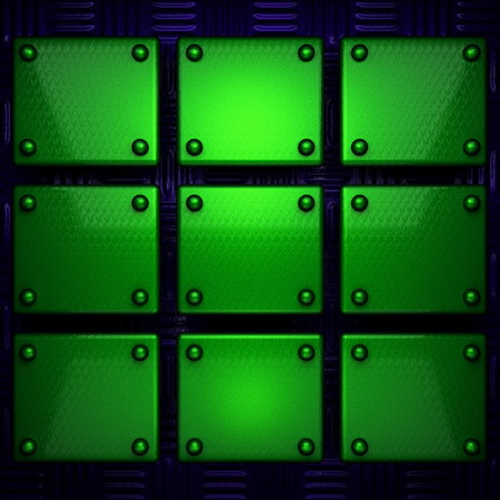 blue green background: green and blue metal background