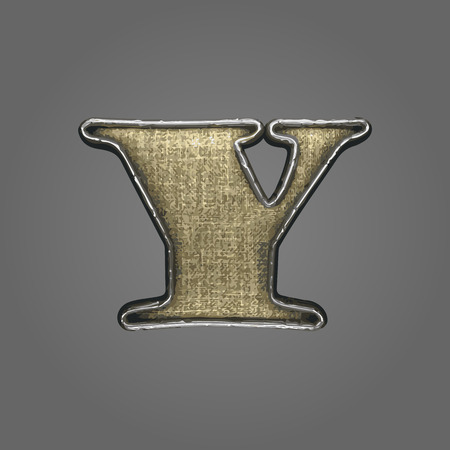 y vector fabric letter