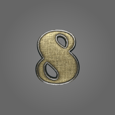 8 vector fabric letter