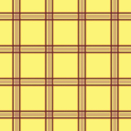 Seamless tartan plaid vector checks pattern