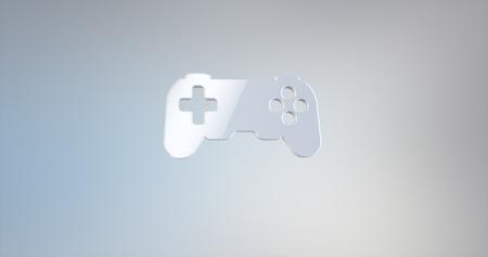 console: Game Console White 3d Icon