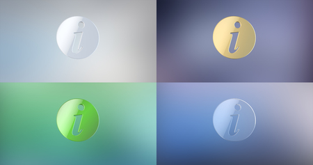 asked: Info 3d Icon