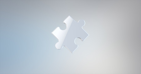 piece: Puzzle Piece White 3d Icon