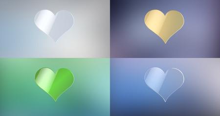 heart 3d: Like Heart 3d Icon Stock Photo