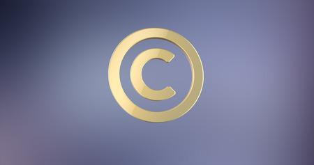 copyright: Copyright Gold  3d Icon Stock Photo