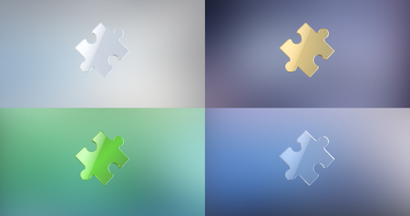 piece: Puzzle Piece 3d Icon