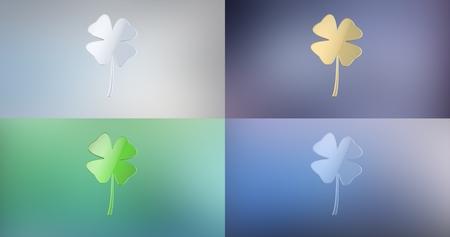 icon 3d: Lucky Clover 3d Icon