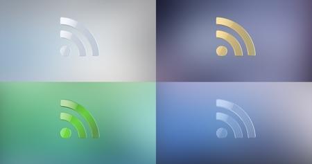 icon 3d: RSS 3d Icon