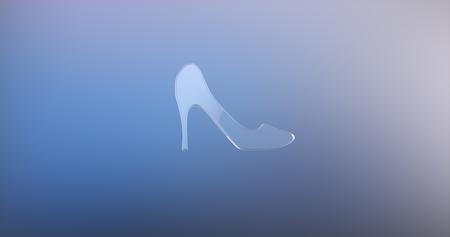icon 3d: Heel Glass 3d Icon