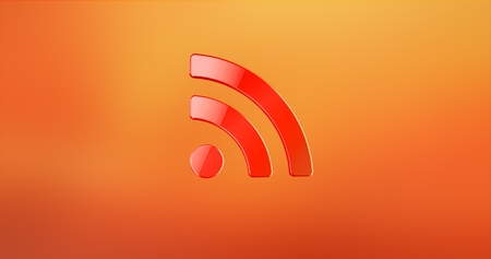 RSS Red 3d Icon