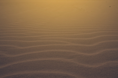 Sand or Desert sand for texture and background. Close Up Stock Photo