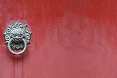 Porta chinesa Velho Banco de Imagens