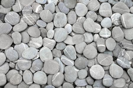 Pebbles stenen achtergrond (textuur)