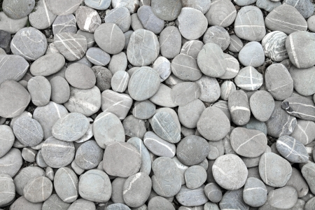 tranquil: Pebbles stone background (texture)  Stock Photo