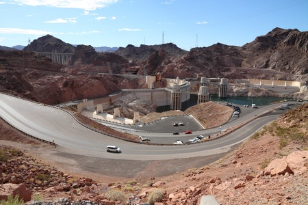 Hoover Dam overview photo