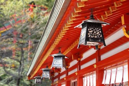 tempels: Japanse lantaarn