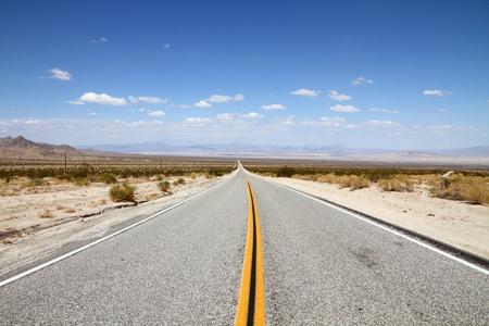 desert highway: Desert Highway  Stock Photo