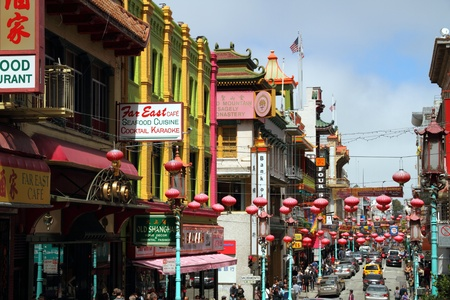 chinatown: San Francisco Chinatown, California, USA