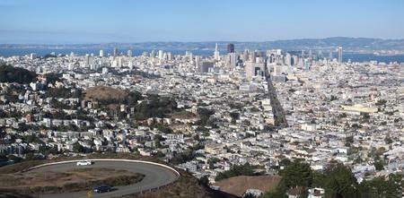 San Francisco cityscape panorama photo