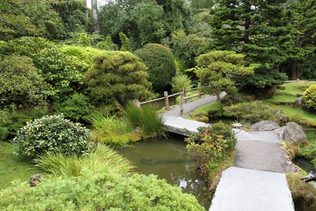 Japanese garden Stock Photo - 12472880