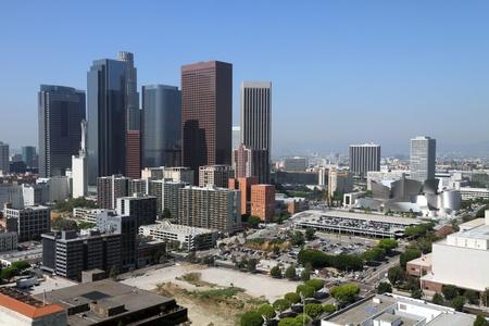 ロサンゼルス ・ ダウンタウン 写真素材