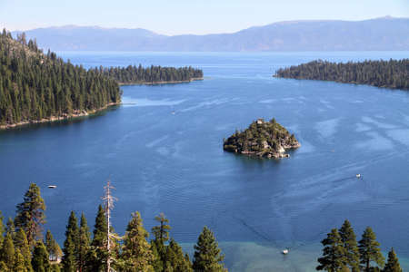 fannette: Emerald Bay, Lake Tahoe  Stock Photo