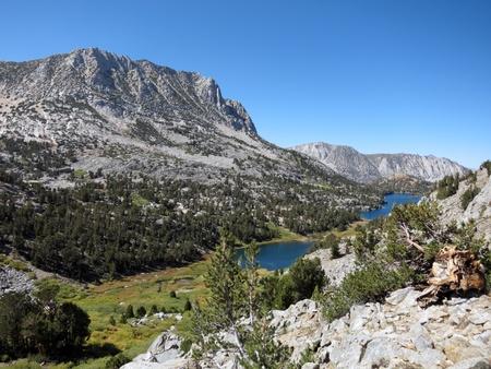 john muir wilderness: Paisaje de monta�a en el Parque Nacional Kings Canyon, California