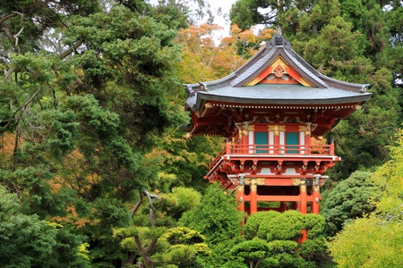 Japanese temple in San Francisco photo