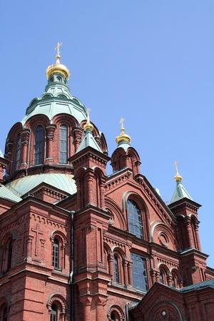 Uspenski Cathedral, Helsinki, Finland  Reklamní fotografie
