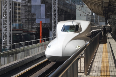 Japanese high speed train  Shinkansen
