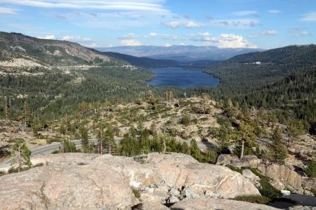 donner: Donner Lake near Truckee, California