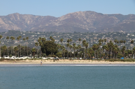 View on Santa Barbara waterfront photo