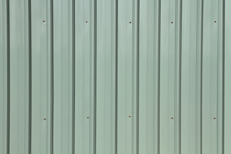 Corrugated metal siding texture photo