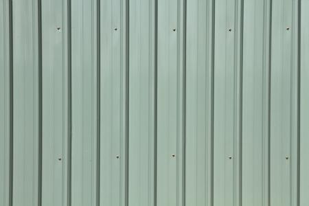Corrugated metal siding texture