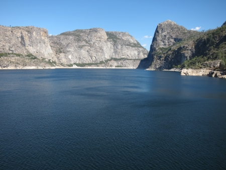 Hetch Hetchy Dam In Yosemite National Park  photo