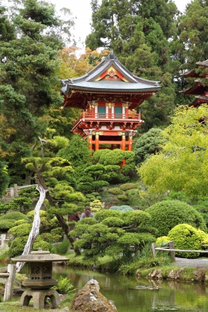 Japanese garden Stock Photo - 18539328