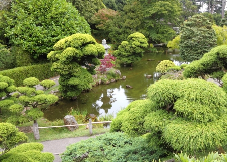 Japanese garden Stock Photo - 18551103
