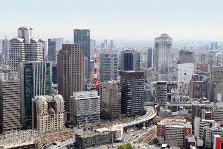 Osaka skyline, Japan