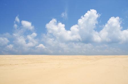 sky and beach Stok Fotoğraf
