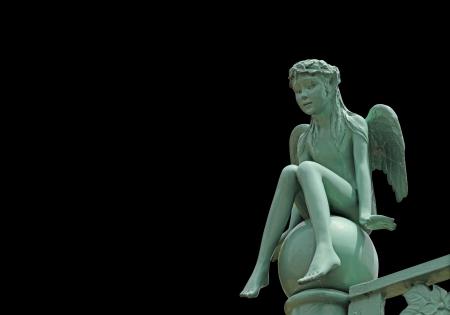 Beautiful Angel sculpture Stok Fotoğraf