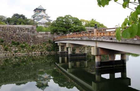 Osaka Castle in Osaka, Japan
