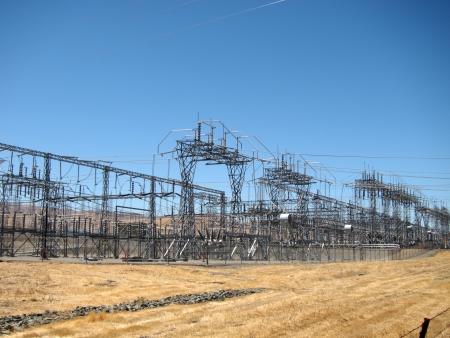 Electrical Substation Stok Fotoğraf